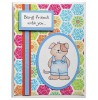 Tammy DeYoung Ice Cream Pup Clear Stamp Set 11049MC