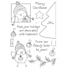Tammy DeYoung Ornament Birdy Clear Stamp Set 11053MC