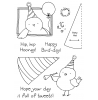 Tammy DeYoung Party Birdy Clear Stamp Set 11172MC