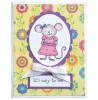 Tammy DeYoung Teacup Mouse Clear Stamp Set 11089MC