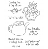 Tammy DeYoung Teacup Mousies #1 Clear Stamp Set 10952MC