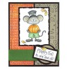 Tammy DeYoung Thanksgiving Mervin Clear Stamp Set 10999SC