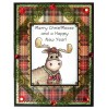 Trudy Sjolander Punny Christmas Moose Clear Stamp Set 11127MC