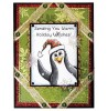 Trudy Sjolander Punny Christmas Penguins Clear Stamp Set 11128MC