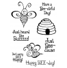 Trudy Sjolander Swirly Bees Clear Stamp Set 11154MC