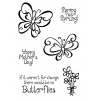 Trudy Sjolander Swirly Butterflies Clear Stamp Set 11156MC