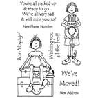 Hattie Lace Clear Stamps